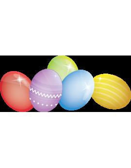 Sticker œufs de Pâques