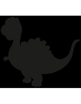 Sticker dinosaure silouhette