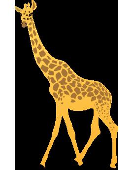 Sticker girafe d'Afrique
