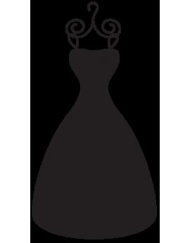 Sticker mode robe de soirée