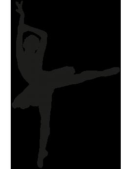 Sticker danseuse étoile ballet