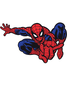 Sticker héros Spiderman