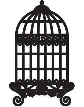 Stickers cage