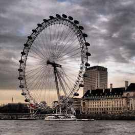 Tableau Londres Grande roue