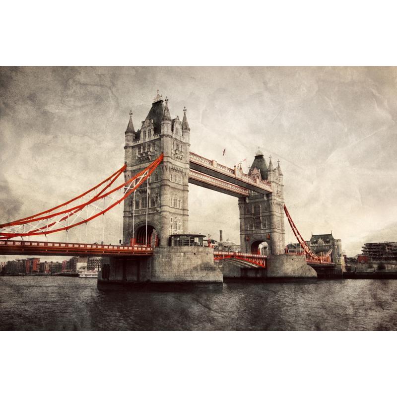 Tableau Londres Tower Bridge - Color-stickers