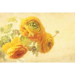 Tableau fleurs jaunes
