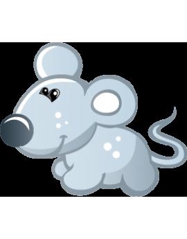 Sticker petite souris