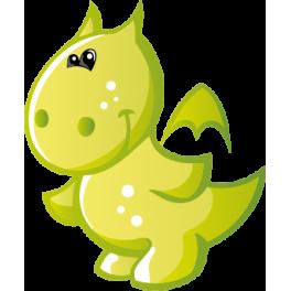 Sticker petit dragon