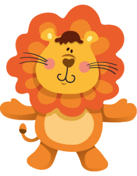 Sticker lionceau