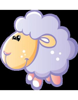 Sticker petit mouton