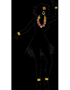 Sticker danseuse africaine