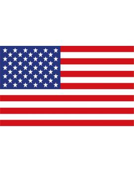 Sticker Amérique Drapeau Américain