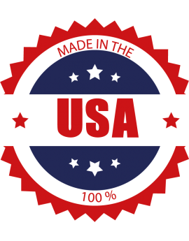 "Sticker Amérique ""Made in the USA"""
