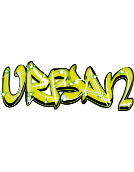 Sticker graffiti peinture urban
