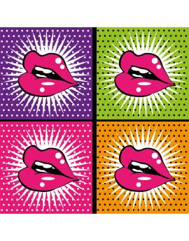 Sticker mode motifs bouches
