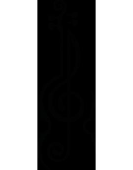 Sticker solfège violon