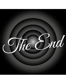 """Sticker cinéma """"The End"""""""