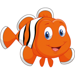 Sticker oc an poisson clown color stickers - Dessin 4x4 humoristique ...