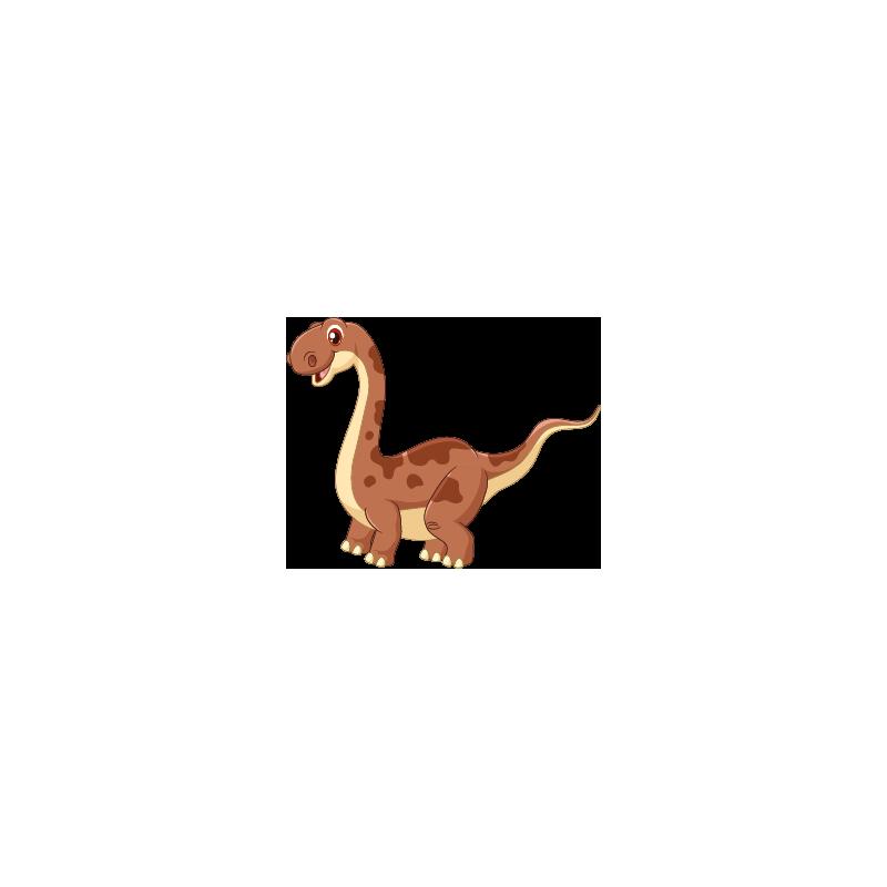 sticker dinosaure diplodocus