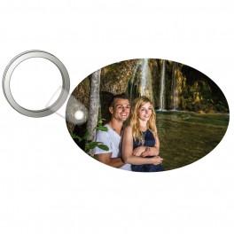 Porte-clés forme ovale