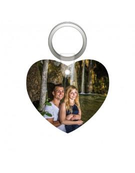 Porte-clés forme coeur