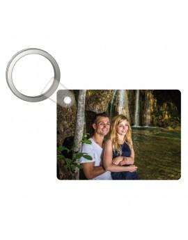 Porte-clés forme rectangulaire