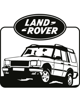 Stickers 4X4,land rover logo
