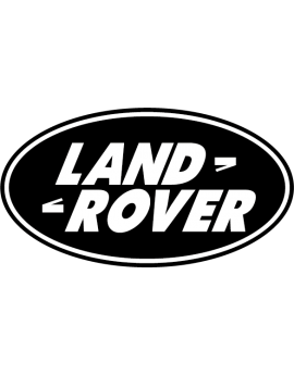 Stickers logo land rover 4X4