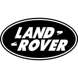 Stickers logo land rover 4X4