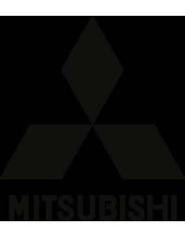 Stickers 4X4,logo mitsubishi