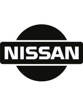 Stickers logo nissan 4X4