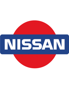Stickers logo nissan 4X4 couleur