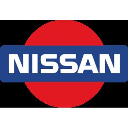 Stickers logo nissan 4X4 couleur