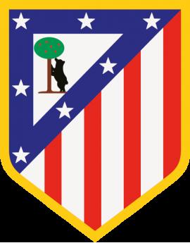 Stickers logo foot atletico madrid
