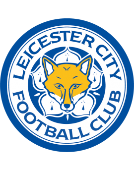Stickers logo foot Leicester City