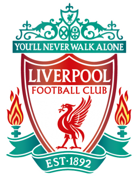 Stickers logo foot Liverpool