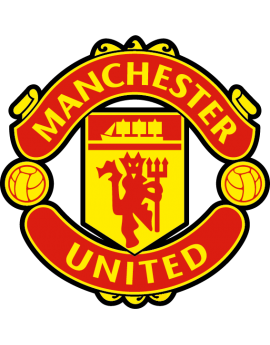 Stickers logo foot  Manchester united
