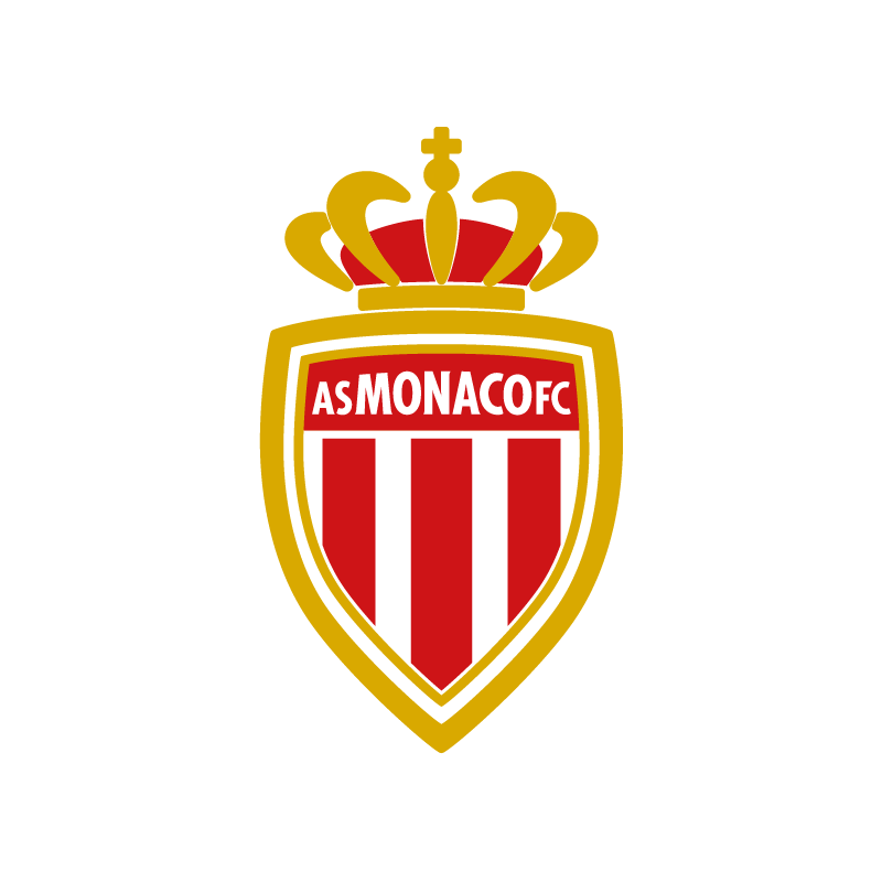 stickers logo foot as monaco colorstickers