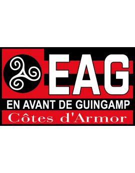 Stickers logo foot  En Avant de Guingamp