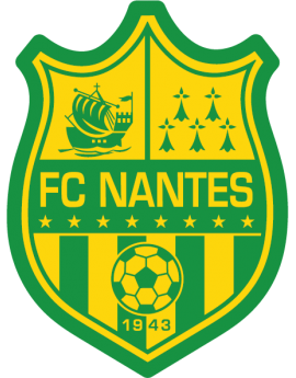 Stickers logo foot  FC Nantes