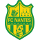 Stickers logo foot  FC Nantes