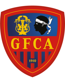 Stickers logo foot Gazélec Ajaccio