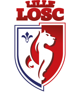 Stickers logo foot Lille Losc