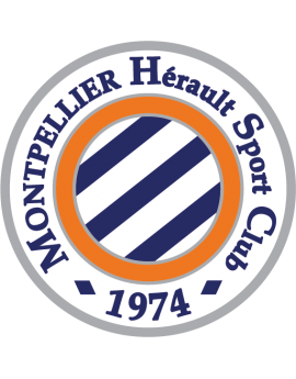 Stickers logo foot Montpellier Herault fc