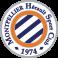 Stickers logo foot Montpellier Herault fc