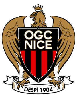 Stickers logo foot OGC Nice