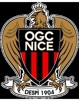 Stickers logo foot OGC Nice