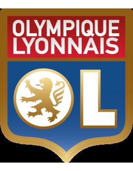Stickers logo foot Olympique de Lyonnais