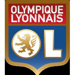 Stickers logo foot olympique de lyonnais color stickers - Logo olympique lyonnais ...