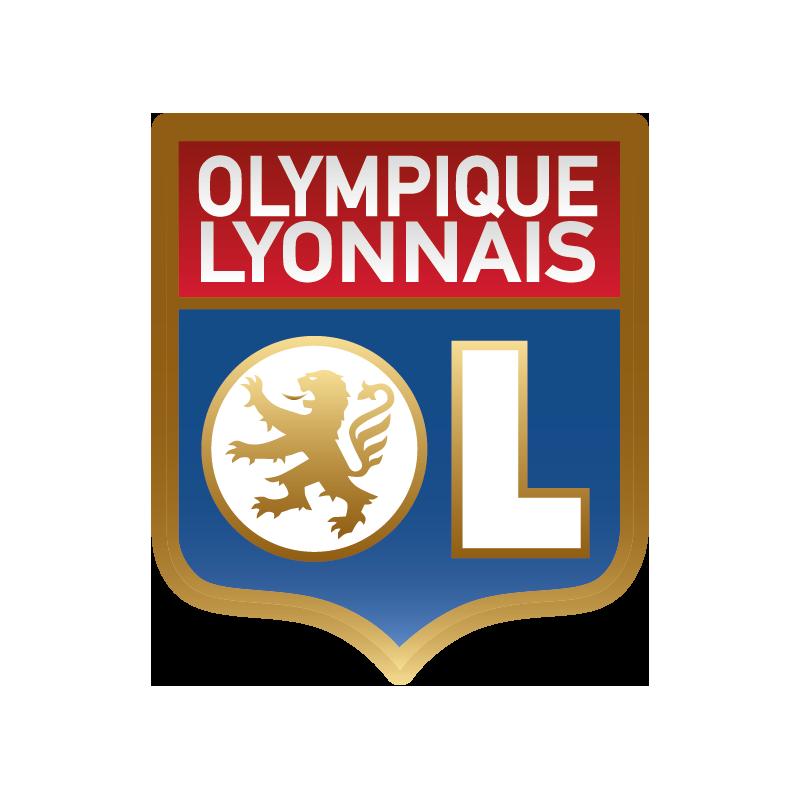 stickers logo foot olympique de lyonnais color stickers. Black Bedroom Furniture Sets. Home Design Ideas